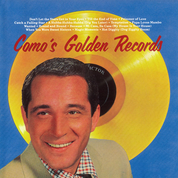 Como's Golden Records Circa 1958