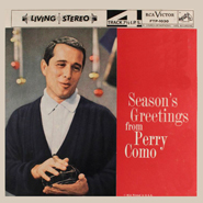 Season's Greetings from Perry Como ~ 1959 FTP-1030
