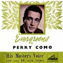 Evergreens by Perry Como ~ UK HMV DLP-1026