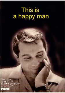 """Happy Man"" Billboard advertisement"