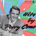 Hits by Perry Como ~ German EP