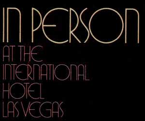 Perry Como In Person at the International Hotel, Las Vegas