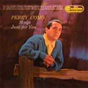 Perry Como Sings Just For You
