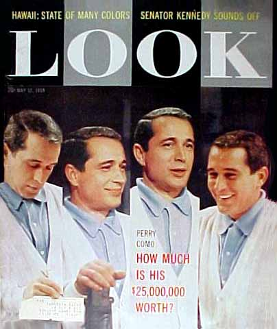 Perry Como: How much is his $25,000.000 worth? by George Fells.(4 pages w/ 5 photos.)