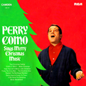 Perry Como Sings Merry Christmas Music - UK Camden 1969