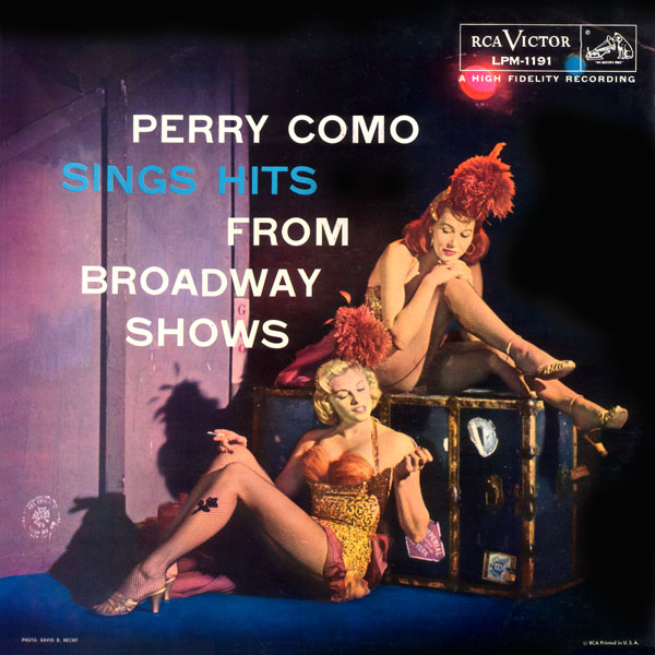 Perry Como Sings Hits from Broadway Shows ~ 1956
