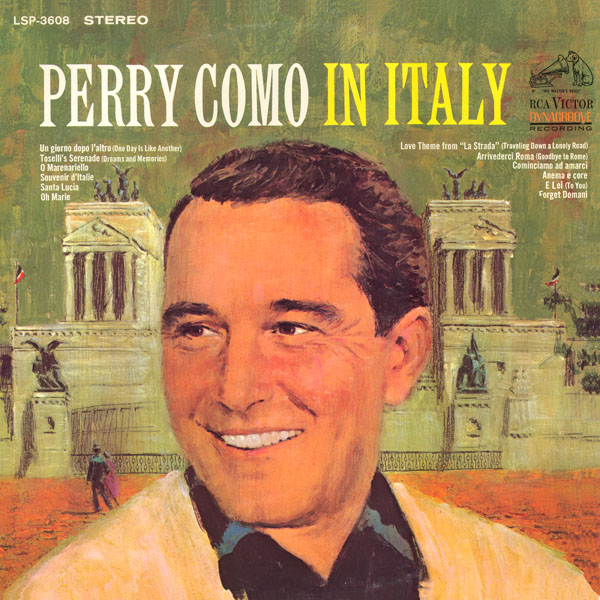Perry Como In Italy ~ 1966