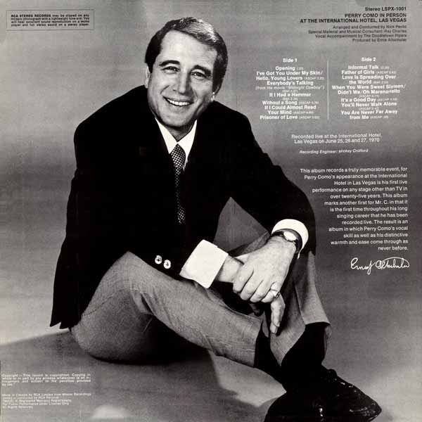 Perry Como Christmas Cd