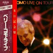 Perry Como Live On Tour 1980 Japan Release