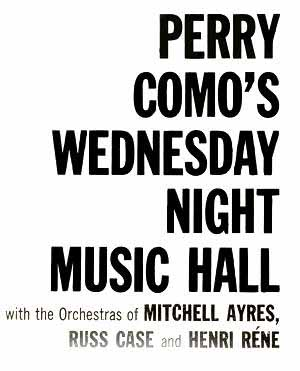Perry Como's Wednesday Night Music Hall - 1959