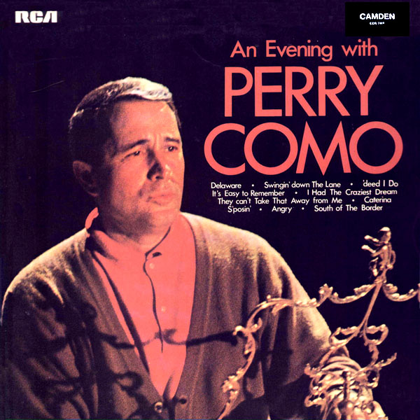 An Evening With Perry Como ~ UK release circa 1970