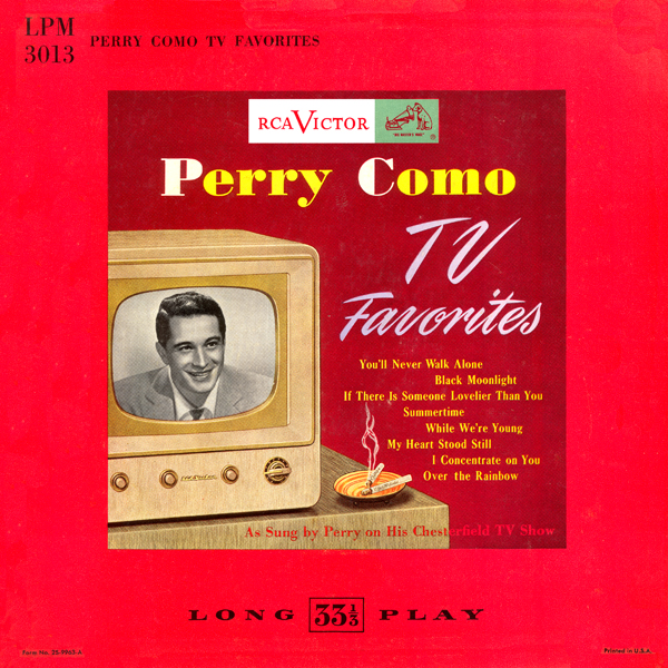 TV Favorites ~ Original Album 1952 LPM 3013