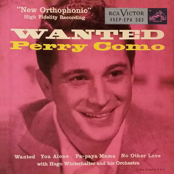 Perry Como ~ Wanted
