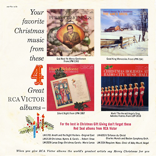 Merry Christmas from your RCA Victor Dealer